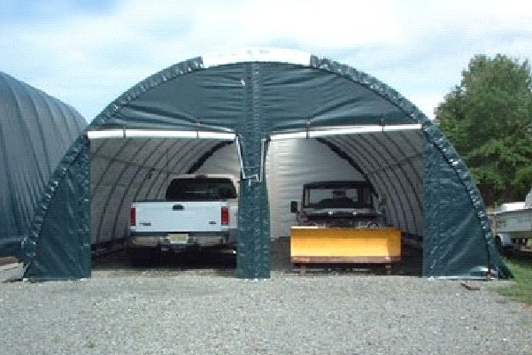 Portable garages - 2 car