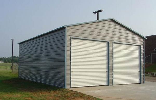 Portable Garage Metal Buildings : Portable garage shelter storage buildings canopies
