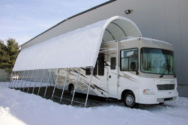 Storage canopies - RV and boat