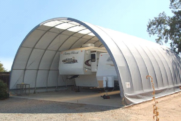 Canvas Storage Tents : Portable garage shelter storage buildings canopies