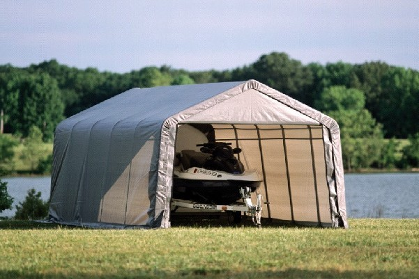 Portable Tent Fabric : Fabric sheds portable outdoor storage solutions