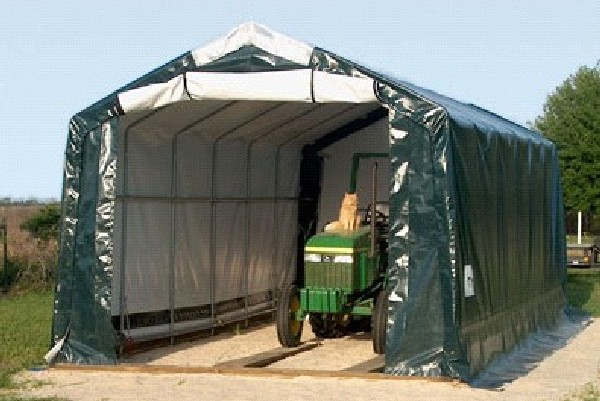 Portable Storage Shelters : Heavy duty portable shelter garage