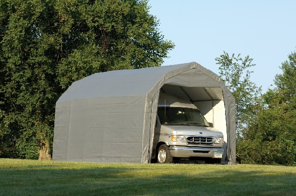 Canvas Carport Shelter For Cars Trucks And Equipment