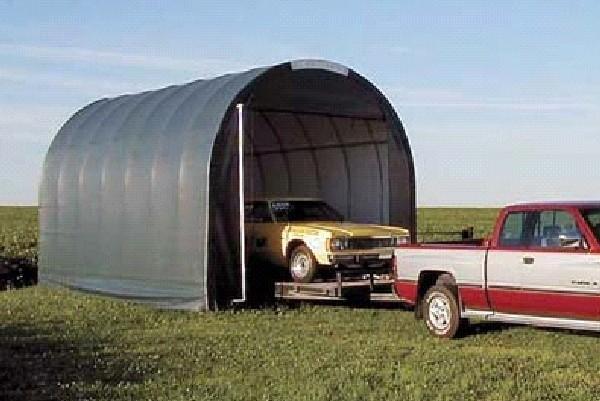 Canvas storage carports, shelters - Portable Garage Shelter