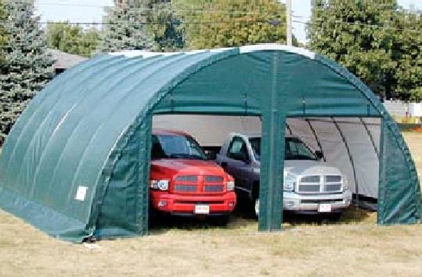 Shelter King Sheds : Portable garage tent king canopy u green
