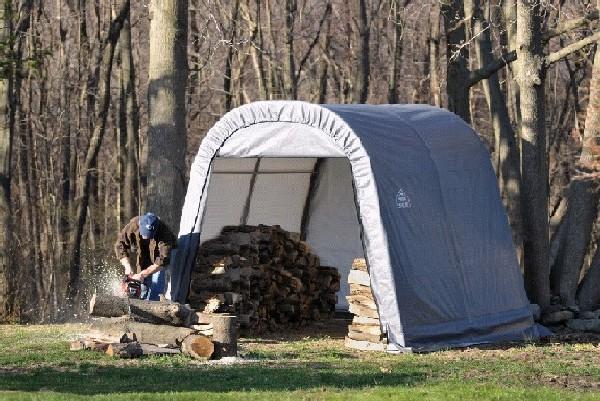 Round Portable Shelter Economy Outdoor Storage