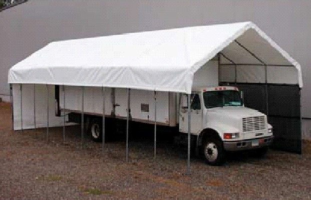 Motorhome Storage Portable Shelter : Rv storage tent portable garage shelter