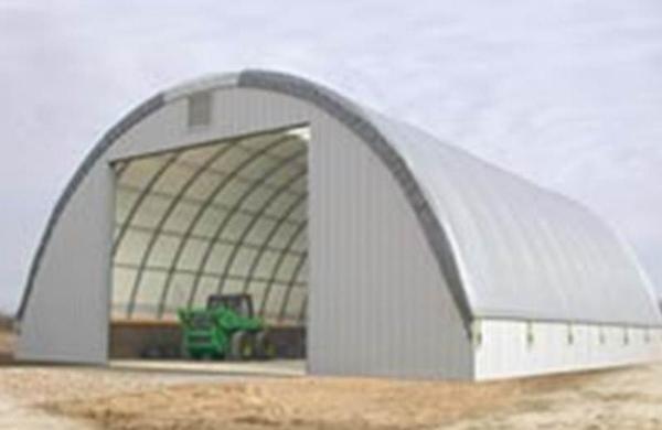 Canvas Hoop Buildings For Equipment Industrial Storage