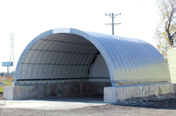 Quonset Buildings For Commercial Industrial Storage