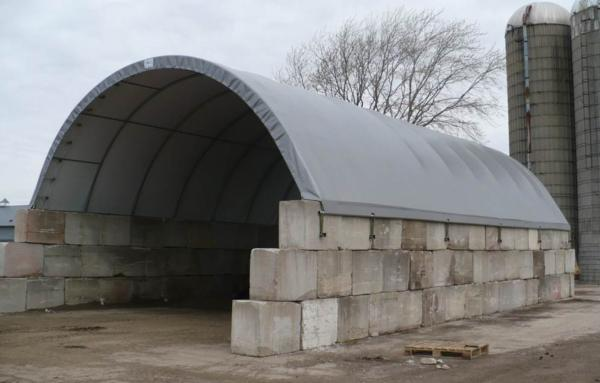 Tarp buildings for agricultural, commercial storage ...