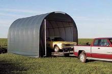 Charming 14u0027Wx28u0027Lx10u0027H Canvas Storage Carport