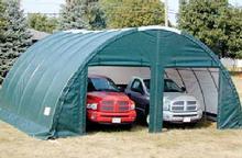 26u0027Wx24u0027Lx12u0027H Quonset Cover Garage